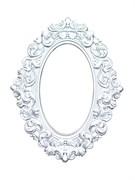 """Декоративная рамка """"Изабелла"""", цвет серебристый"""