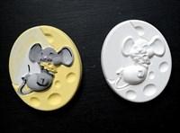"Фигурка под раскраску ""Мышкино счастье"", размер 10х8"