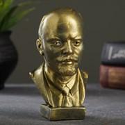 Бюст В.И. Ленин, цвет латунь